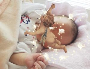 私ママになりました、、、天使誕生!夢が現実に。